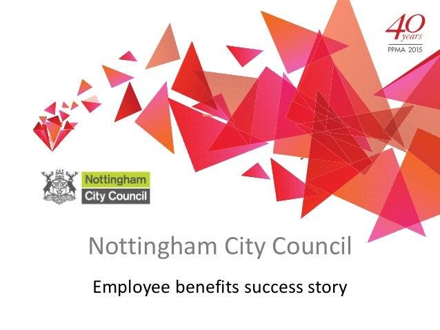 Nottingham City Council Employee benefits success story