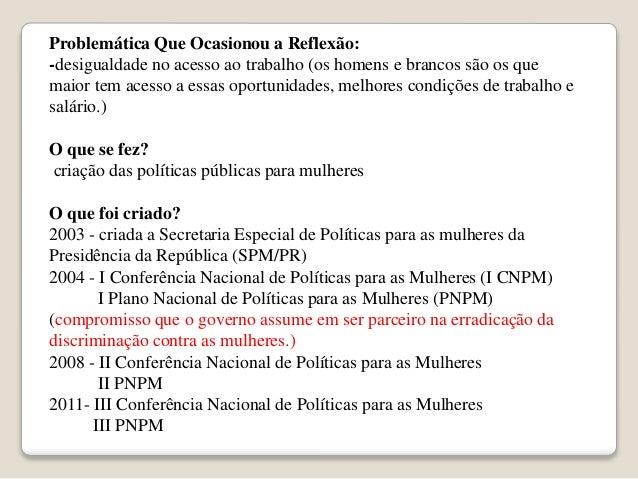 Políticas Públicas de Saúde da Mulher no Brasil Slide 2