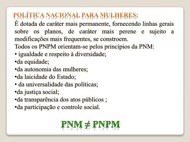Políticas Públicas de Saúde da Mulher no Brasil Slide 3