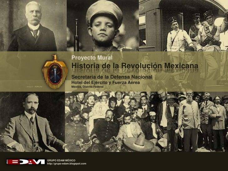 Maqueta Del Mural Historia De La Revoluci N Mexicana