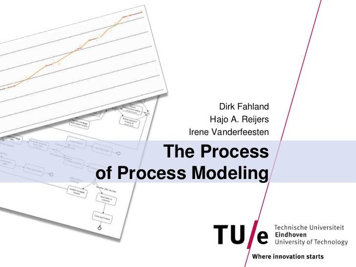 The Processof Process Modeling<br />Dirk Fahland<br />Hajo A. Reijers<br />Irene Vanderfeesten<br />