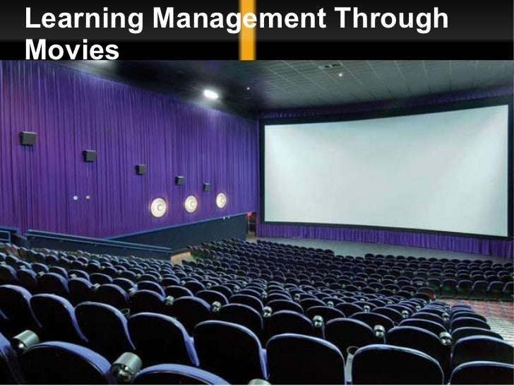 Learning Management Through Movies