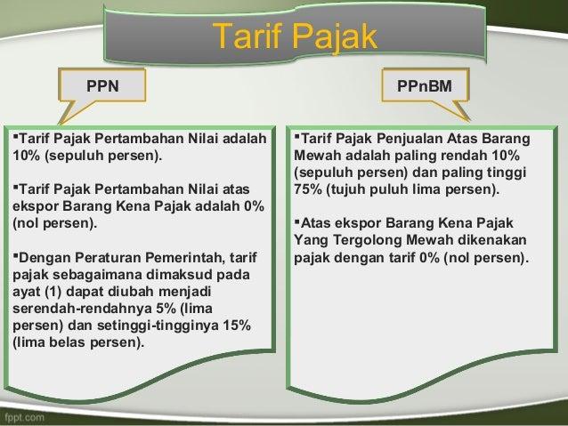 Tarif pajak pada perdagangan opsi