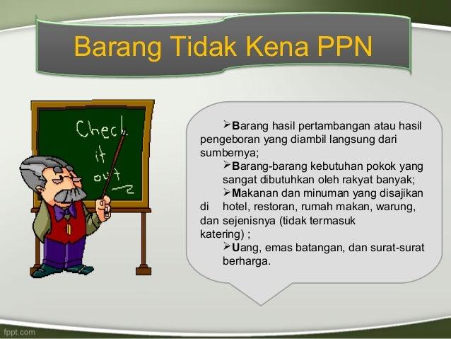 Ppn Dan Ppnbm