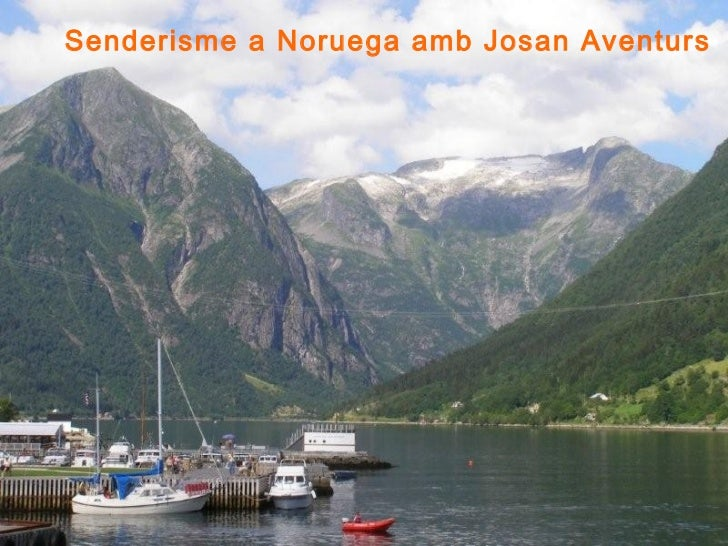 Senderisme a Noruega amb Josan Aventurs