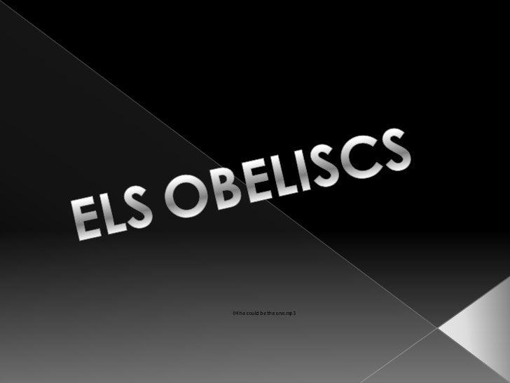 ELSOBELISCS<br />