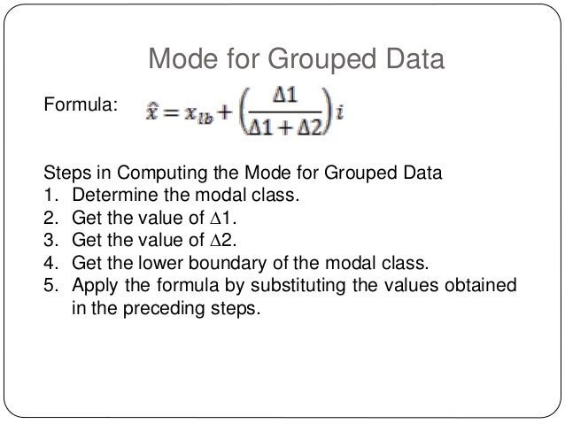 Worksheet Central Tendency Formula lesson 4 measures of central tendency copy 19