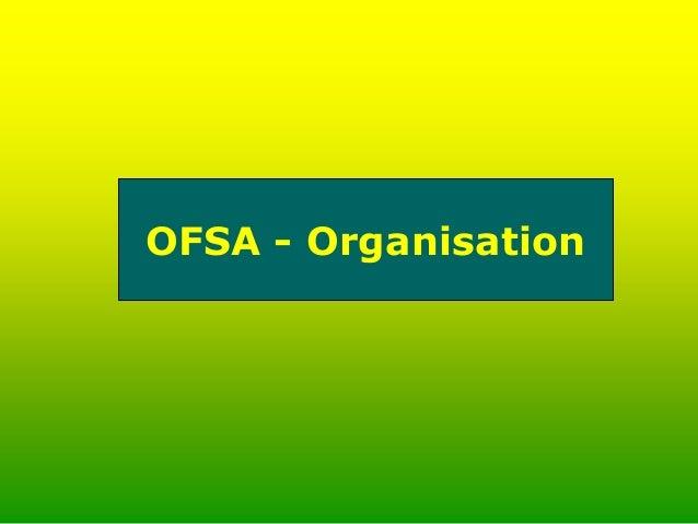 OFSA – Zeiten 13.30 – 17.30 Uhr (Di und Do) 13.30 – 15.30 Uhr  4 Ausbilder sind anwesend  alle anderenAusbilder können i...