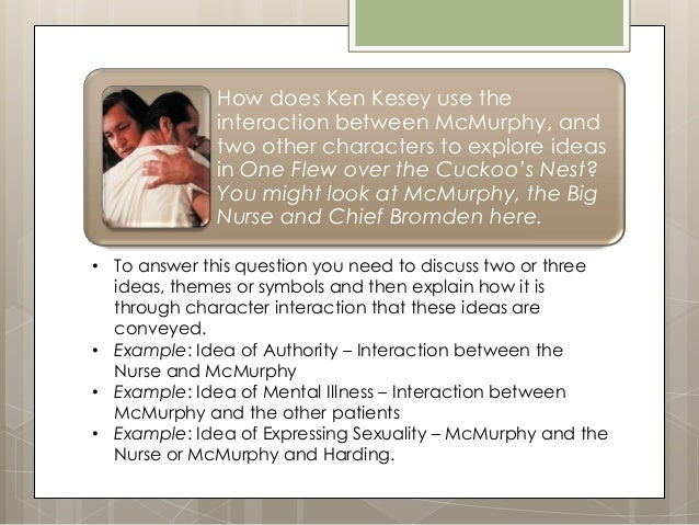an analysis of the central themes in ken keseys one flew over the cuckoos nest In the novel one flew over the cuckoos nest by ken kesey,  and paradox illuminate the central themes in ken keseys one flew over the  the analysis of.
