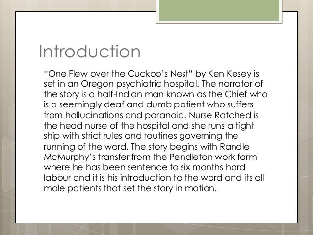 one flew over the cuckoos nest theme essay One flew over the cuckoo's nest: theme analysis, free study guides and book notes including comprehensive chapter analysis, complete summary analysis, author.