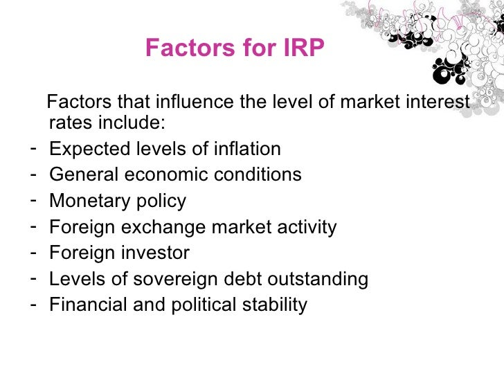 balance of payment irp ppp and