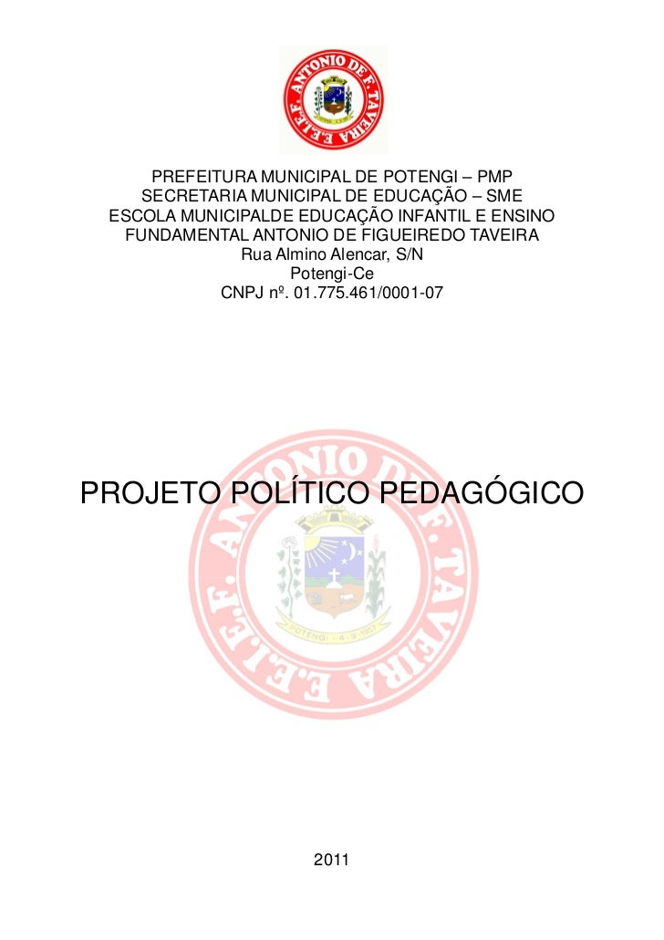 0     PREFEITURA MUNICIPAL DE POTENGI – PMP    SECRETARIA MUNICIPAL DE EDUCAÇÃO – SME ESCOLA MUNICIPALDE EDUCAÇÃO INFANTIL...