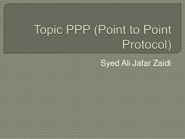 Syed Ali Jafar Zaidi