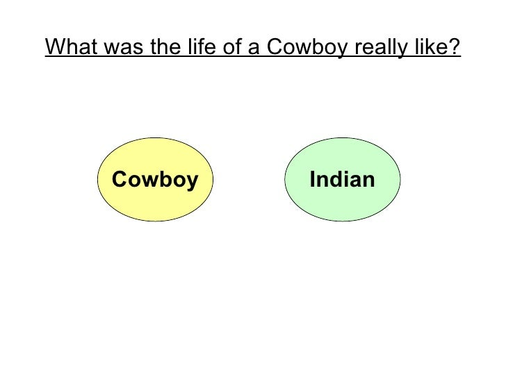 What was the life of a Cowboy really like? Cowboy Indian