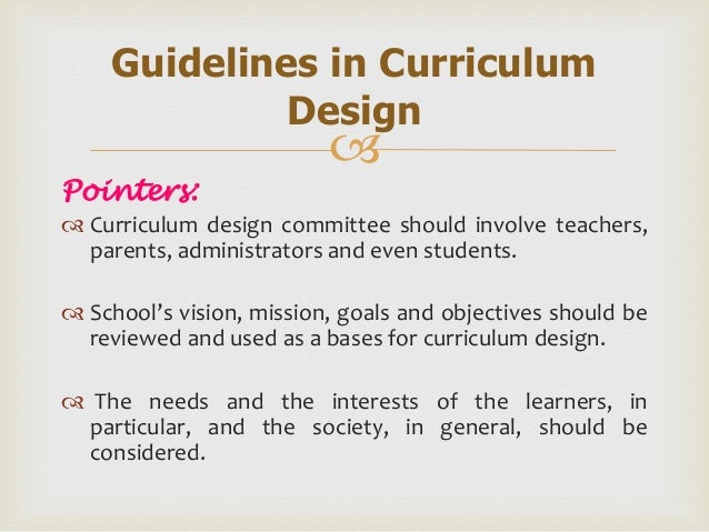 dimensions and principles of curriculum design The university of adelaide has a long tradition of providing a scholarly, diverse, exciting and rewarding learning environment find learning and teaching initiatives.