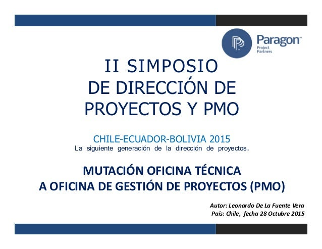 Mutaci n oficina t cnica a oficina de gesti n de proyectos for Oficina de proyectos