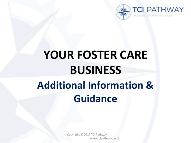 Setting Up a Foster Care Business: Additional Information