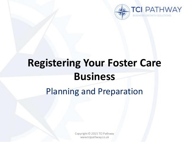 Registering a Start-Up Foster Care Business
