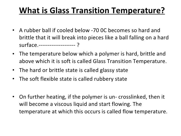 how to find transition temperature