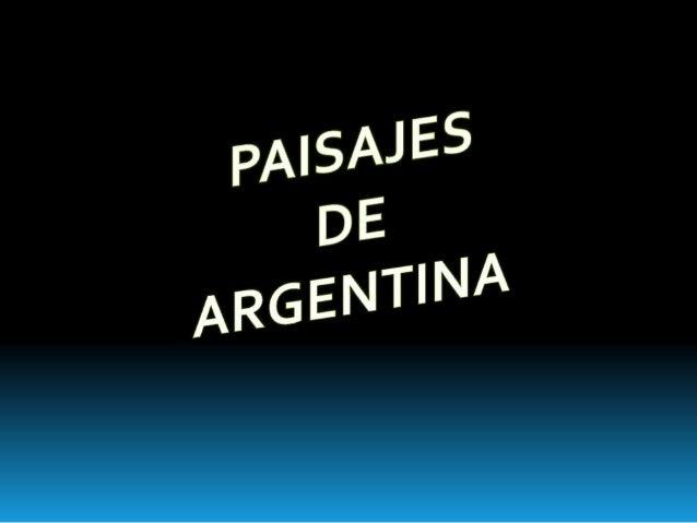 Argentina con sus diversos destinos para cada época del año. Debido a su ubicación geográfica en el hemisferio sur del pla...
