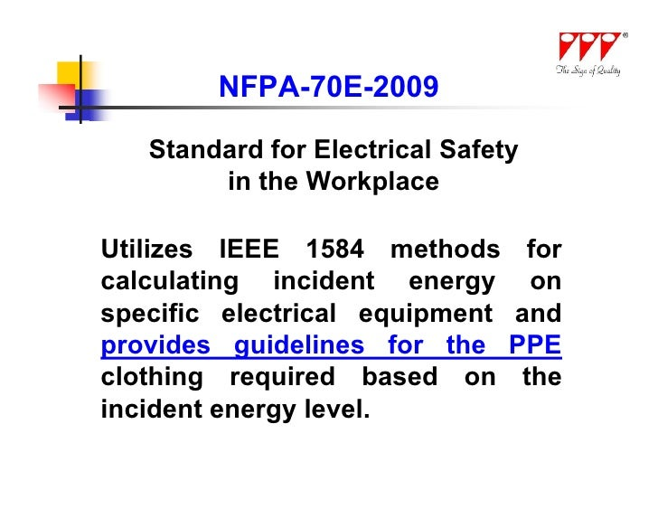 ieee 1584 guide for performing arc flash hazard calculations