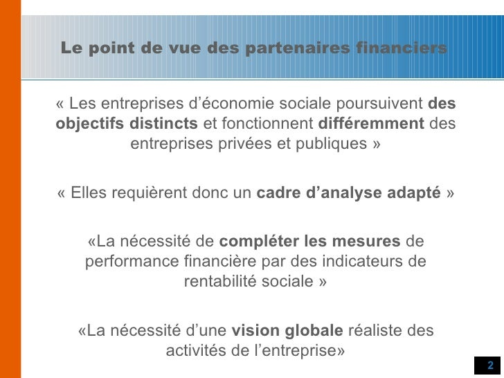 Stratégie de capitalisation et de financement de projets Slide 2