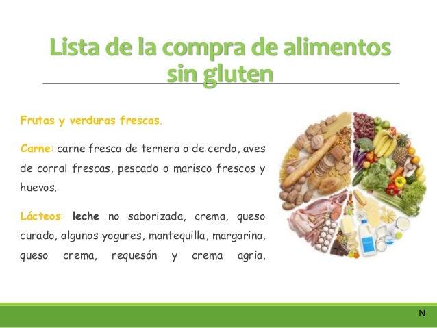 Dieta sin gluten enfermedad celiaca nutrici n - Lista alimentos con gluten ...