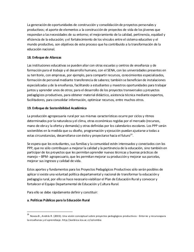 Ppp Estrategias Para El Aprendizaje Escolar Y Proyectos De