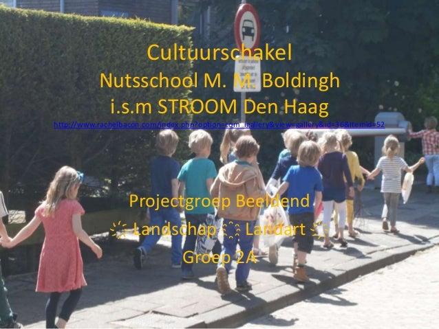 Cultuurschakel Nutsschool M. M. Boldingh i.s.m STROOM Den Haag http://www.rachelbacon.com/index.php?option=com_igallery&vi...