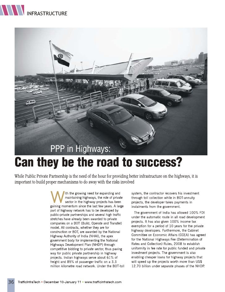 PPP in Highways - Can they be the road to success?