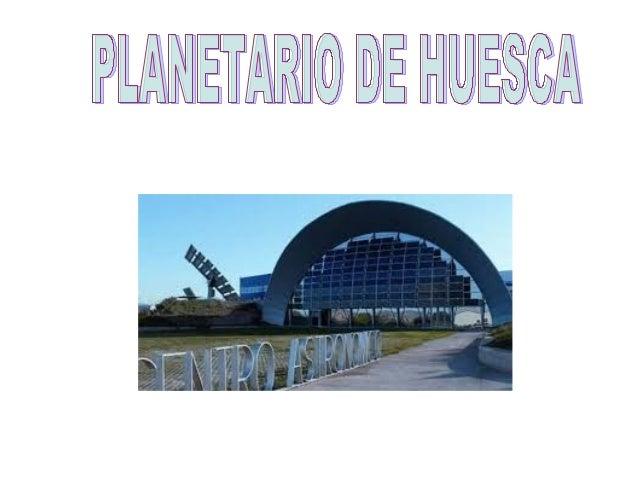 El 16 de octubre fuimos al Planetario de Huesca. Nos dividieron en  dos grupos, la clase de la letra C y la mitad de la cl...