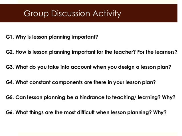 Ppp Lesson Planning