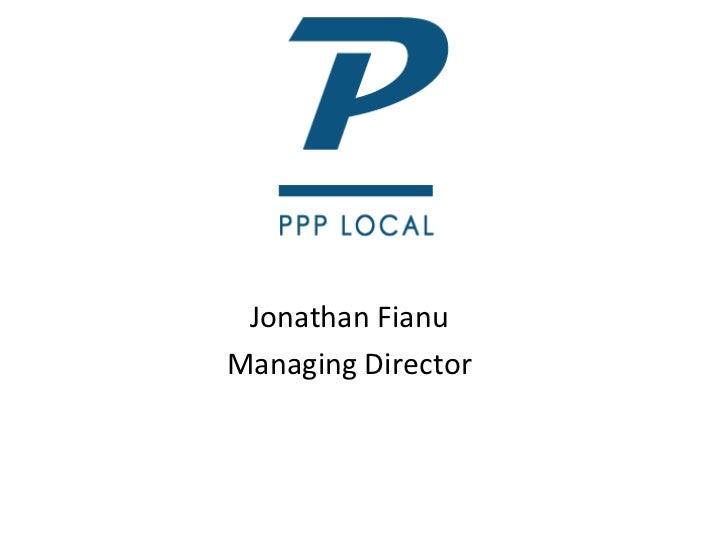 Jonathan Fianu Managing Director