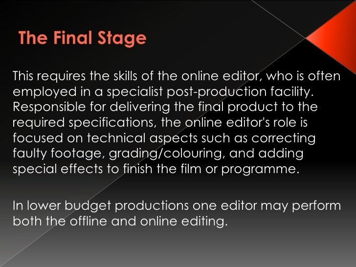 Editors Job