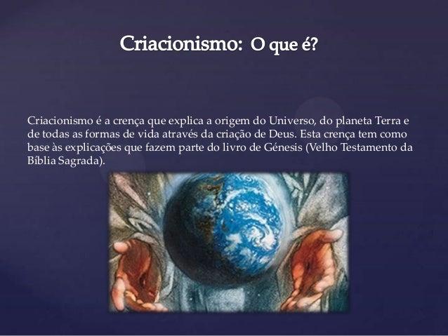 A Teoria Do Criacionismo E Hip 243 Tese Da Abiogen 233 Se