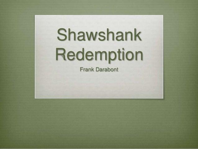 Introduction to Shawshank Redemption Essay Sample