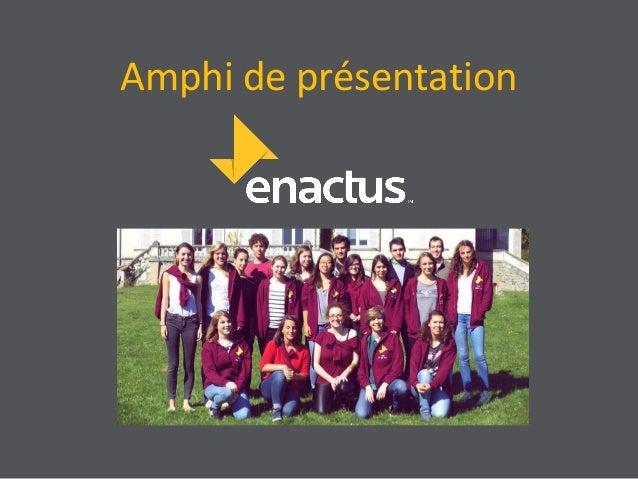 Amphi de présentation