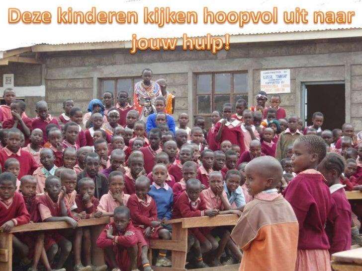 Deze kinderen kijken hoopvol uit naar jouw hulp!<br />