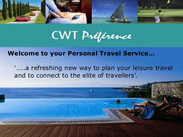 Welcome To Your Personal Travel Service Slide 2