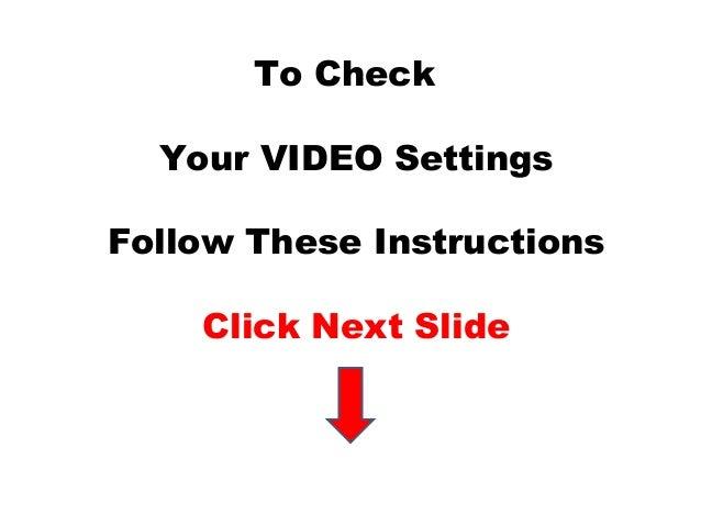 Zoom.us Video Settings