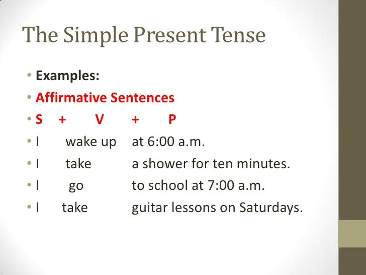 """writing in present tense examples For example, if the action all happened in the same time—past, present, or future—then the verbs should be consistent in tense this """"mistake"""" is often heard in speech, and it is even used in very informal writing."""