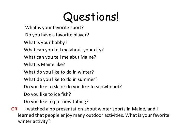 Amazing Questions!