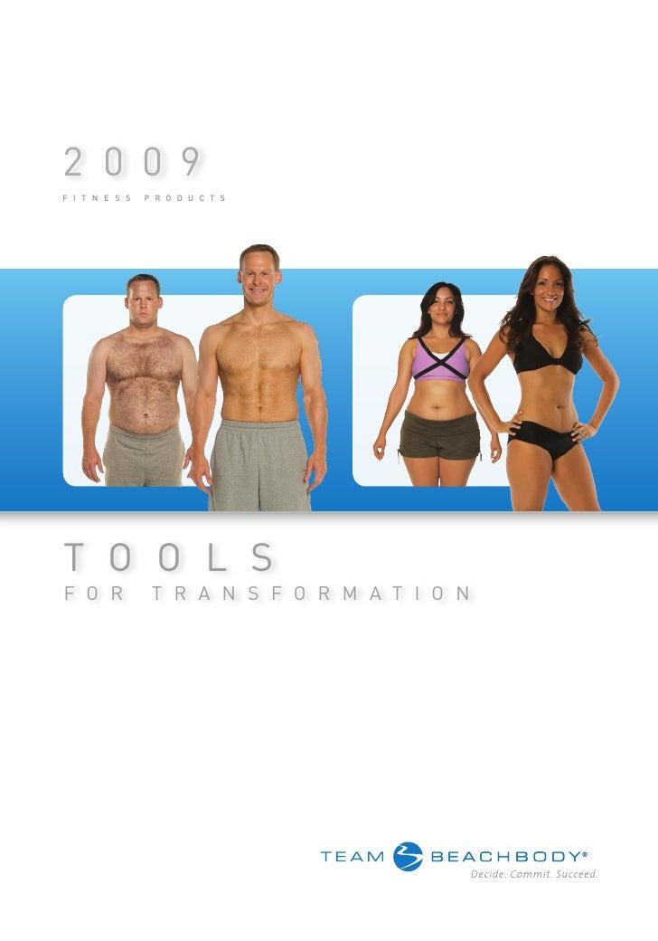 Team Beachbody Product Catalog