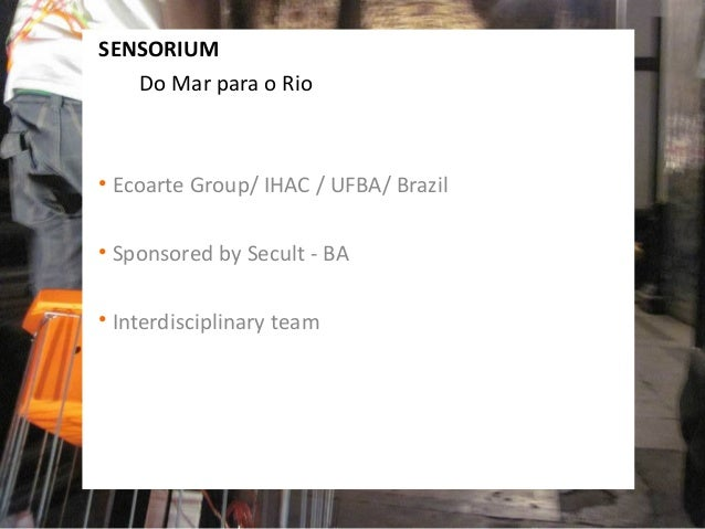 Sensorium no People's Palace Projects Slide 2