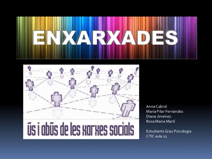 Anna CabrolMaria Pilar FernándezDiana JiménezRosa Maria MartíEstudiants Grau PsicologiaCTIC aula 12