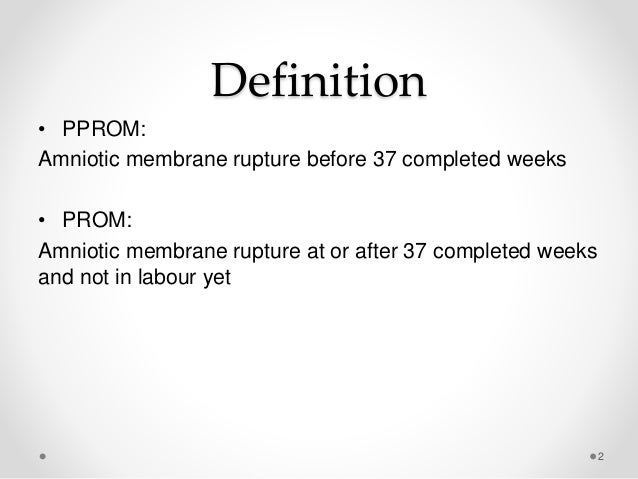 Pprom & prom Slide 2