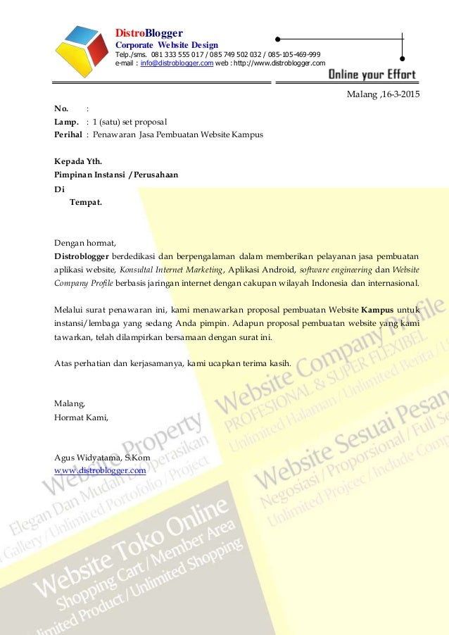 Jasa Pembuatan Website Universitas Website Kampus 081333555017