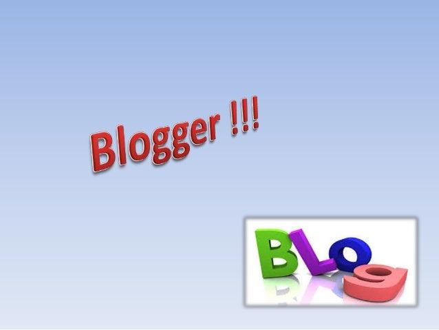 O blog é uma das ferramentas de comunicação mais populares da internet. A pessoaque administra o blogé chamada de blogueir...
