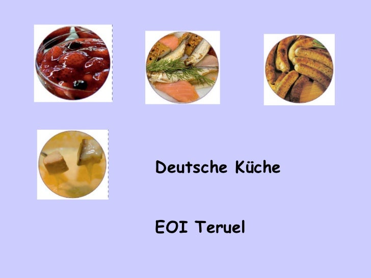 Deutsche Küche EOI Teruel