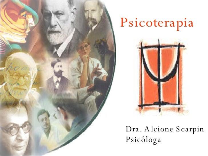 Psicoterapia Dra. Alcione Scarpin Psicóloga